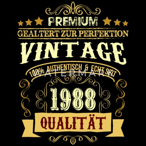 30th Birthday Shirt Gift Funny Vintage Men S Premium T Shirt