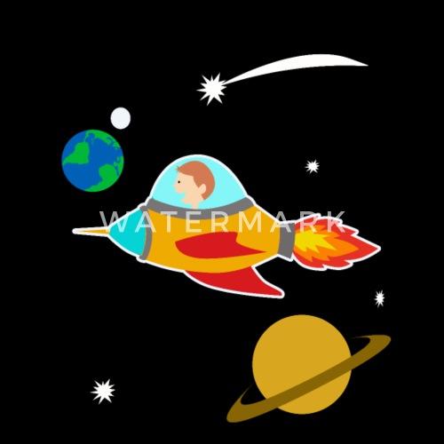 Dessin Anime Garcon Fusee Espace Planete Univers Idee De Watter Bus