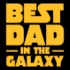 Best Dad In The Galaxy - Mannen Premium T-shirt