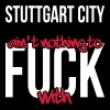 Stuttgart City is not nothing to fuck with - Men's Premium T-Shirt