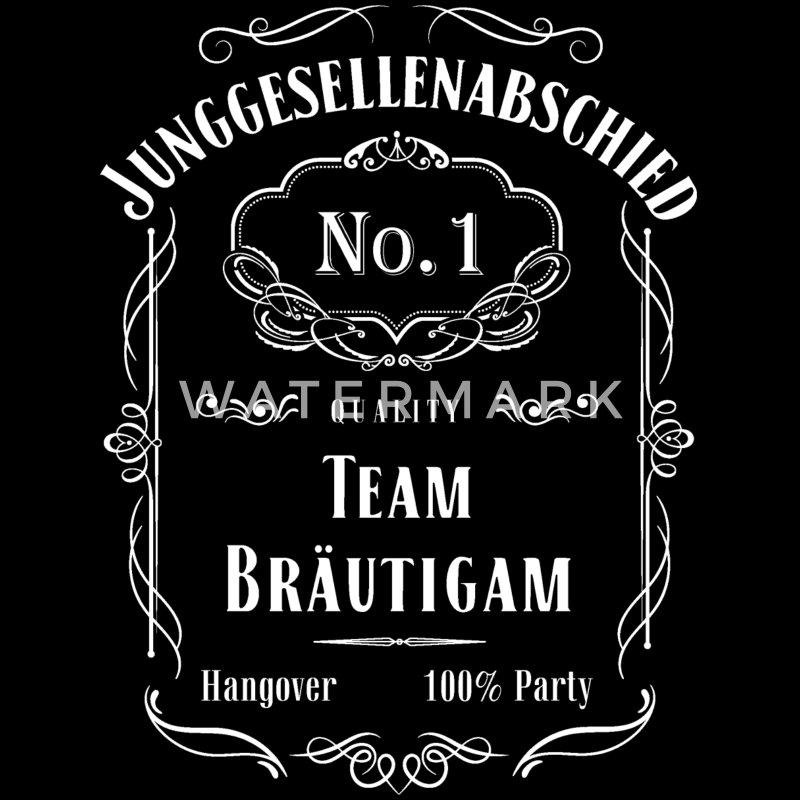 Spreadshirt - JGA Outfit Ideen für Männer - Jack Daniels