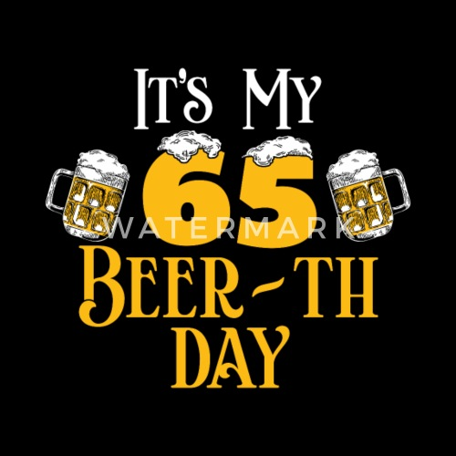 65 65th Birthday Gift Beer Idea By