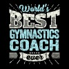 TOP Gymnastics Trainer: Best Gymnastics Coach Ever - Men's Premium T-Shirt