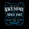 Being Totally Awesome Since 1967 - Men's Premium T-Shirt