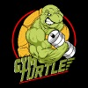 Gym Turtle Gym Design - Men's Premium T-Shirt