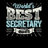 TOP Secretary: Worlds Best Secretary Ever - Men's Premium T-Shirt
