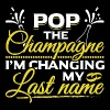 JGA - POP THE CHAMPAGNE IM CHANGING MY NAME - Männer Premium T-Shirt