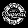 VINTAGE ORIGINAL SINCE 1987 BIRTHDAY GIFT - Men's Premium T-Shirt