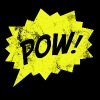 Pop Art / Comic: Pow! - Speech bubble - Men's Premium T-Shirt