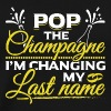 JGA - POP THE CHAMPAGNE IN CHANGING MY NAME - Men's Premium T-Shirt