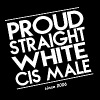 Proud straight white cis male - Männer Premium T-Shirt