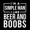 I'm a simple man shirt - Men's Premium T-Shirt
