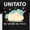 Unitato half unicorn half potato shirt - Men's Premium T-Shirt