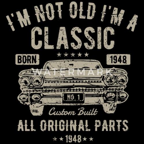 70 Geburtstag Geschenk Vintage Oldtimer Shirt Von Whoop Whoop