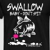 SWALLOW Baby DO NOT SPIT - CARP - FISHING - CARP - Men's Premium T-Shirt
