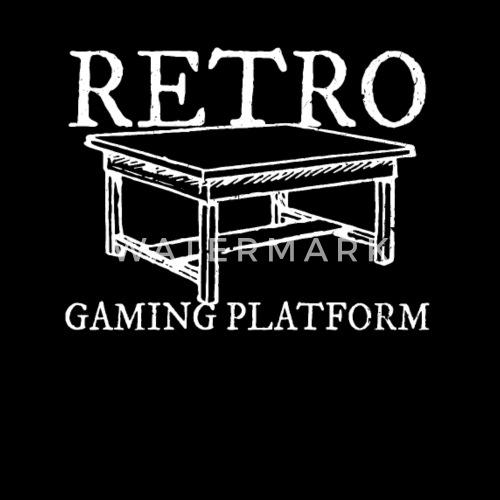 Retro Gaming Platform Juegos De Mesa Regalo Por Dvis Spreadshirt