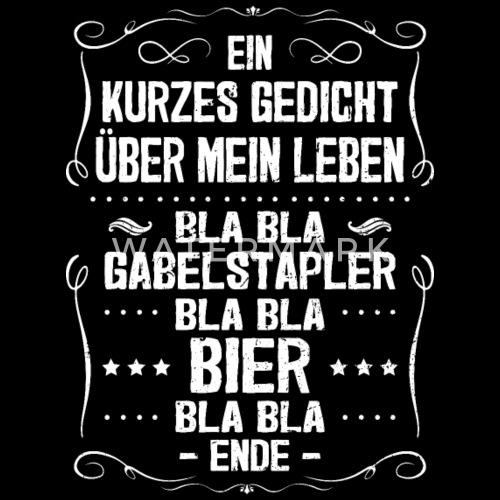 Staplerfahrer Gabelstaplerfahrer Gedicht Geschenk von Krautshirts ...