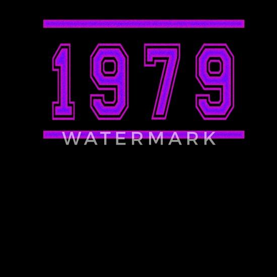 Retro 1979 Texte Anniversaire Vintage Classique Génial T