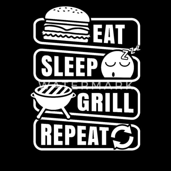 Grappige BBQ barbecue Grill Shirt cadeau Mannen premium T