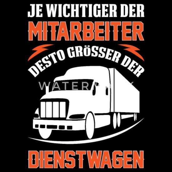 Lkw Fahrer Spruch Männer Premium T Shirt Spreadshirt