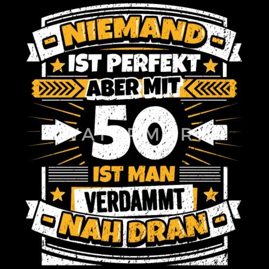 Lustiger Spruch 50 Geburtstag Männer Premium T Shirt