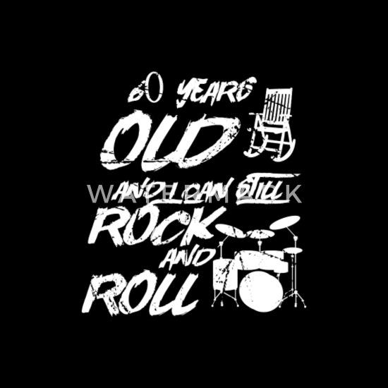 Verjaardag Rock.60e Verjaardag Rock Grootvader Verjaardag Mannen Premium T