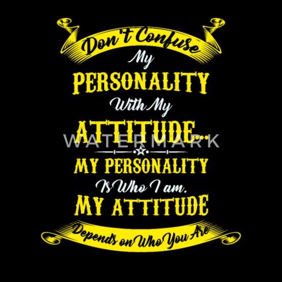 Personnalité émotion Citation Respect Attitude T Shirt