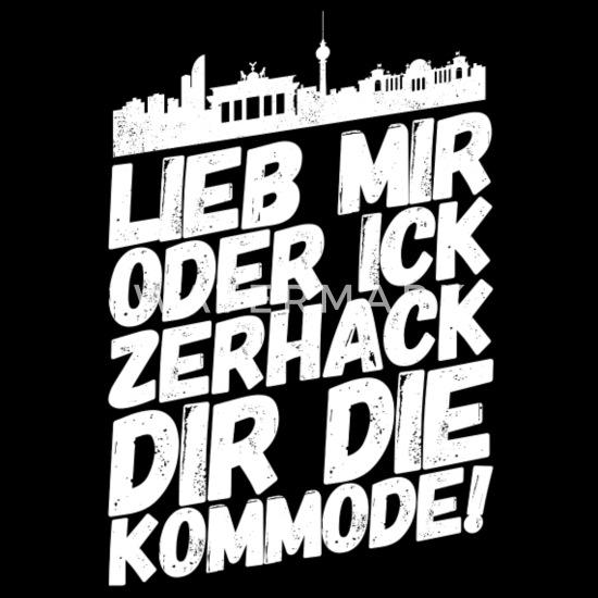 Berlin Berliner Lustige Sprüche Mundart Kommode Männer