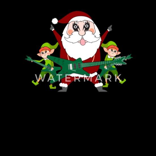 BERRETTO Natale Heavy Xmas BABBO NATALE BERRETTO NERO METAL Babbo Natale