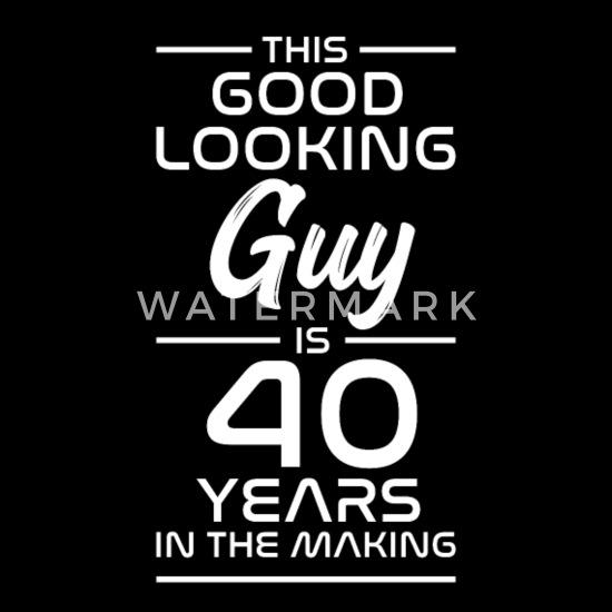 Nieuw 40 verjaardagscadeau grappig idee van de 40 jaar Mannen premium T RN-33