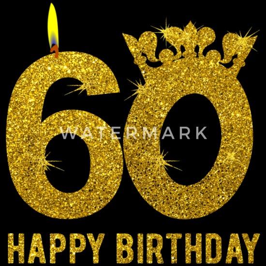 a86773db149 60-årsdag 60 år Grattis på födelsedagen Premium T-shirt herr ...