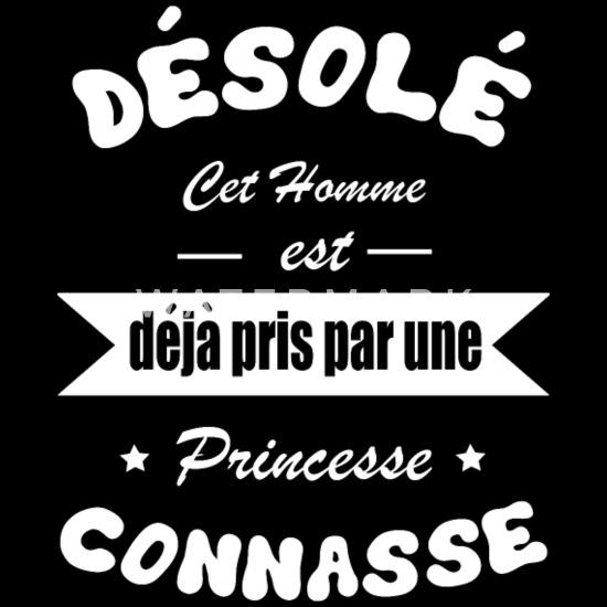 Connasse Shirt Citation Amour Princesse Cadeau T Shirt