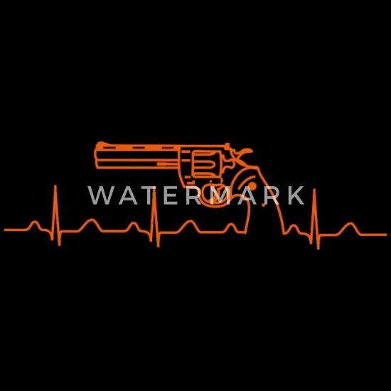 Colt Python Anaconda Revolver Heartbeat or Men's Premium T
