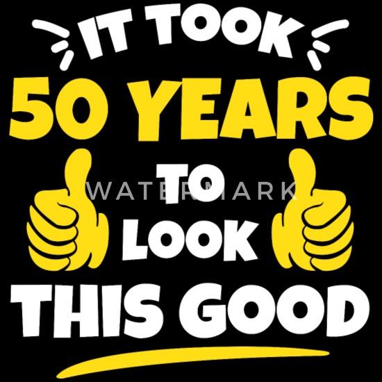 50ste Verjaardag Cadeau Het Duurde 50 Jaar Mannen Premium T