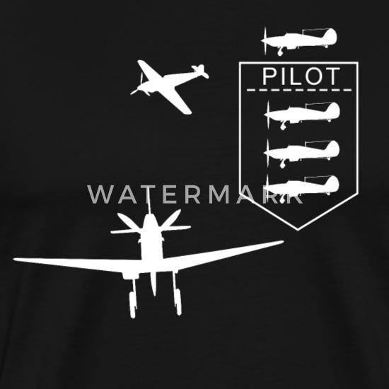 pilotes-AVION je suis Flying T-shirt homme-Fly-Avion-Pilote Dans ma tête