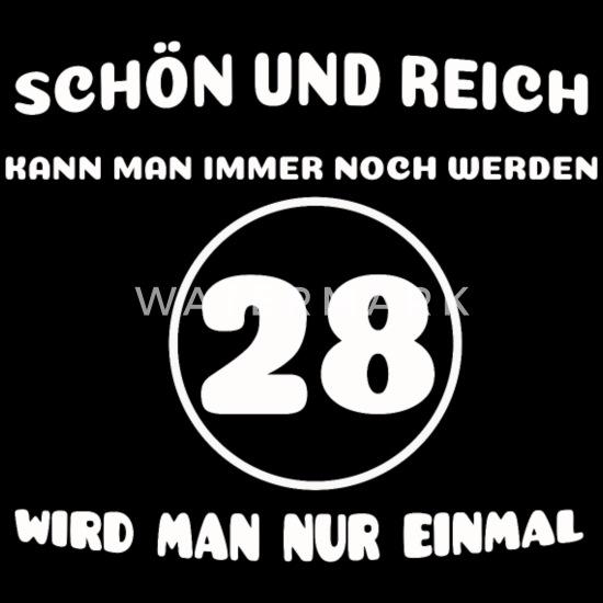 28 Geburtstag Geschenk 28ster Lustiger Spruch 28 Jahre 28