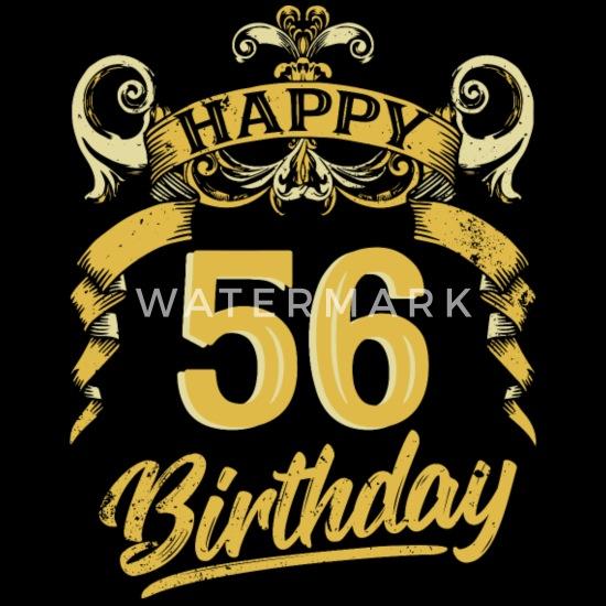Verjaardag 56.56 Jaar Verjaardag Gelukkige Bday Gift Van De Verjaardag