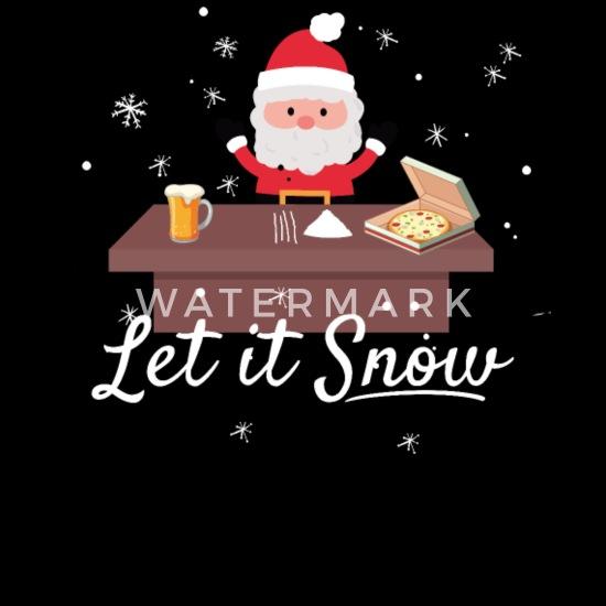 Santa Claus Cola Cocaine Trend Meme Kerstmis Mannen Premium T
