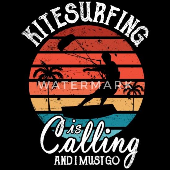 Najlepsze śmieszne Powiedzenia Kitesurfer Retro Kitesurfing