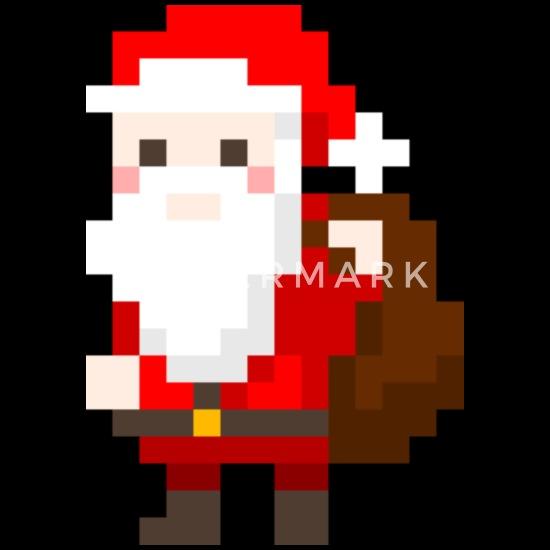 Père Noël Comme Pixelart T Shirt Premium Homme Spreadshirt