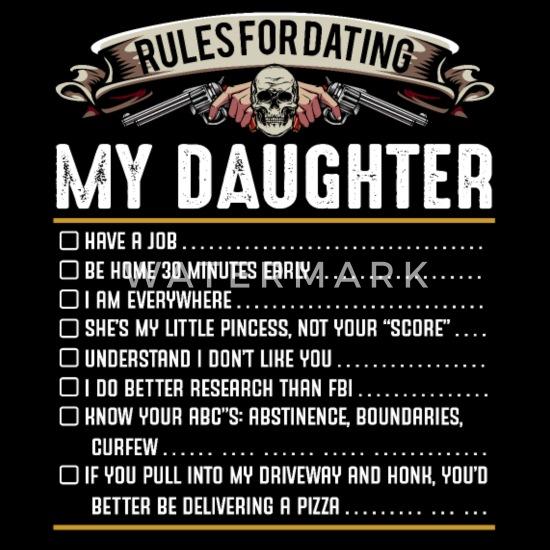 Daddy regels voor dating mijn dochter