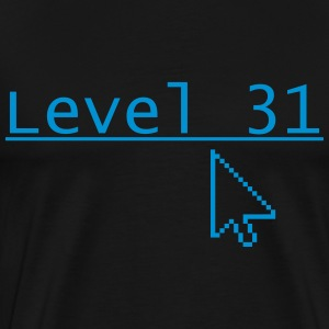 Level 31 - Herre premium T-shirt
