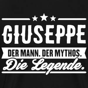 Man Myth Legend Giuseppe - Premium T-skjorte for menn