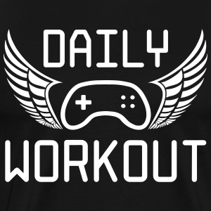 Daily workout - Men's Premium T-Shirt