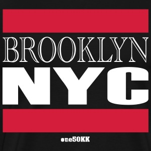 Brooklyn NYC - Mannen Premium T-shirt