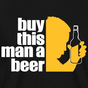 Give This Man A Beer. Tomorrow Is His Wedding. - Men's Premium T-Shirt