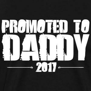 Promoted to Daddy est 2017 - Men's Premium T-Shirt