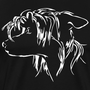 CHINESE CRESTED DOG - Men's Premium T-Shirt