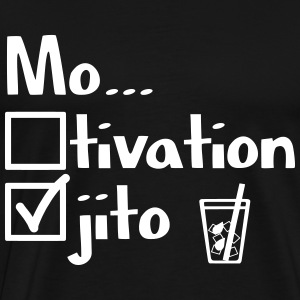 Motivation or Mojito? - Men's Premium T-Shirt