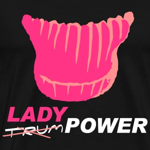 Ladypower - Premium-T-shirt herr